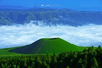 熊本県 米塚と雲海