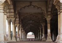 インド アーグラ城塞 ディワーニ・アーム 公謁殿