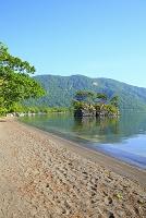 青森県 新緑の十和田湖畔