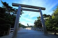 三重県 伊勢神宮 内宮(宇治橋)