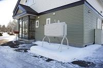 寒い土地の暮らし・北海道 住宅 灯油タンク