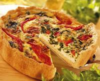 ホウレン草とリコッタチーズのキッシュ