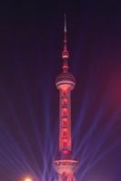 上海 東方明珠タワーの夜景