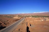 モロッコ ワルザザート カスバ街道