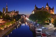 カナダ オタワのリドー運河