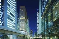 東京都 汐留シオサイトの夜景