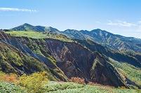 石川県 甚之助避難小屋より別山を望む