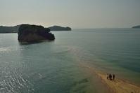 香川県 小豆島 満潮時で消えるエンジェルロード