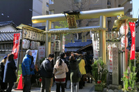 京都府 御金神社の初詣