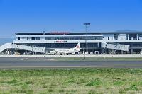 島根県 出雲縁結び空港と飛行機