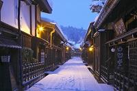 岐阜県 雪の高山