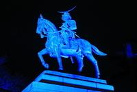 宮城県 伊達政宗騎馬像