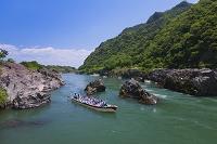 岐阜県 木曽川と日本ライン下り