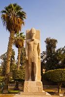 エジプト メンフィス ラムセス2世像