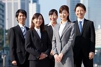 就職活動に臨む若者たち