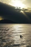 ポリネシアのカヌー