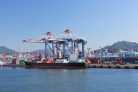 韓国 釜山港コンテナターミナル