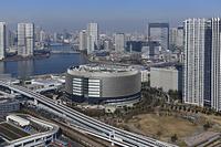 東京都 江東区 豊洲 テプコ豊洲 空撮