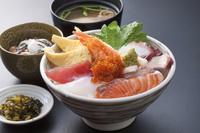 海鮮丼定食