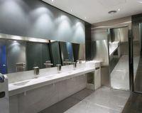 公衆トイレの洗面所