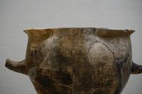 鳥足文タタキ土器の鍋
