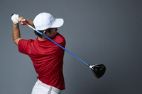 男子ゴルフ選手