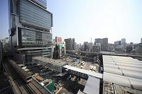 東京都 再開発 東横店屋上よりヒカリエを望む