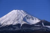 静岡県 十里木より富士山と宝永火口