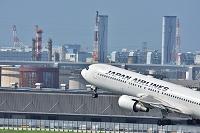 羽田空港 JAL B767-300ER