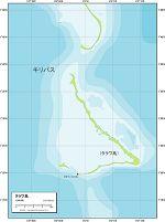 タラワ 地勢図