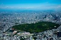 東京都 代々木公園と新宿方面