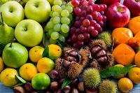 秋の果物いろいろ