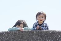笑顔の日本人子供