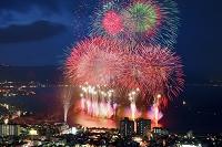 長野県 諏訪湖祭湖上花火大会