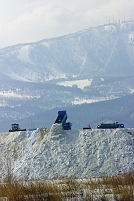 北海道 札幌市 雪堆積場
