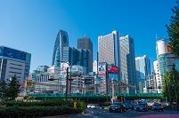 東京都 新宿 大ガード東 副都心
