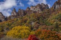 群馬県 黄葉の妙義山