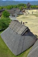 佐賀県 吉野ヶ里遺跡 中のムラの竪穴住居