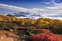 長野県 乗鞍岳 乗鞍エコーラインより槍ヶ岳と穂高岳