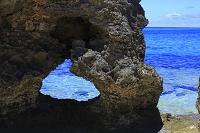 沖縄県 ハート岩