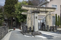 宮城県 八幡神社の石鳥居