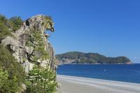三重県 秋の獅子岩