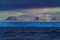 サウスジョージア島 南極から流れてきた氷山