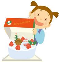 クリスマスケーキ-12月