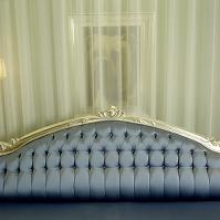 ロンドン ホテルのソファー
