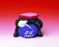 滋賀県 小幡土人形の巳と福袋