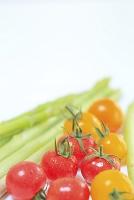 プチトマトとグリーンアスパラ
