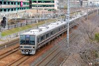 大阪府 東海道本線 207系普通電車
