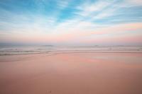 静岡県 下田市 白浜海岸の夕景