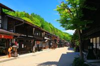 長野県 中山道 初夏の奈良井宿